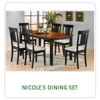 NICOLE S DINING SET